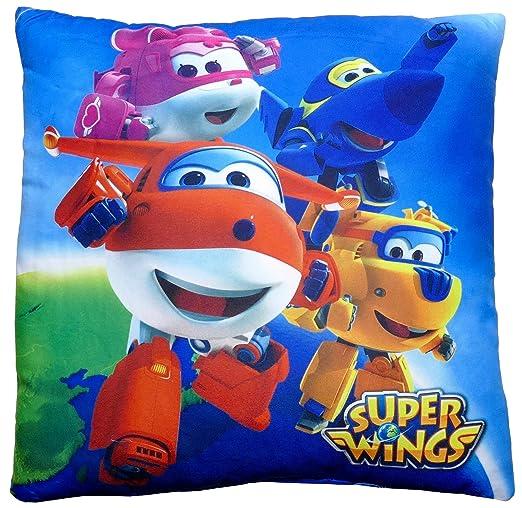 Super Wings Cojín para Niños, 35 x 35 cm, art. 122P-0894 ...