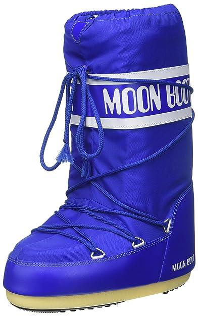 Moon-boot 140044 00, Bottes de Neige Mixte Adulte, Bleu (Blu Elettrico 075), 42/44 EU