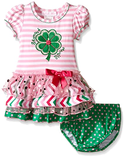 Amazon Bonnie Baby Appliqued Knit Tutu Dress And Panty Set