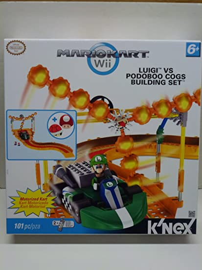 Amazon.com: Mario Kart Wii Knex Exclusivo Building Set ...