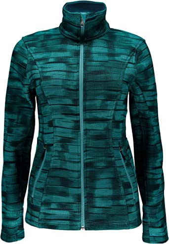 Spyder Womens Endure Novelty Long Mid Wt Stryke Jacket