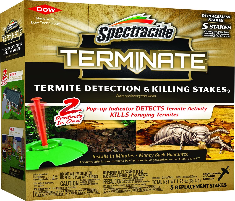 Spectracide 96116-1 Terminate Termite Killer, 40 Stakes
