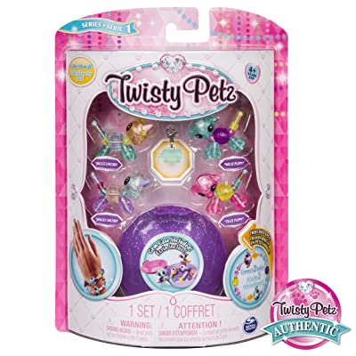 Twisty Petz - Babies 4-Pack Unicorns and Puppies Collectible Bracelet Set for Kids: Toys & Games
