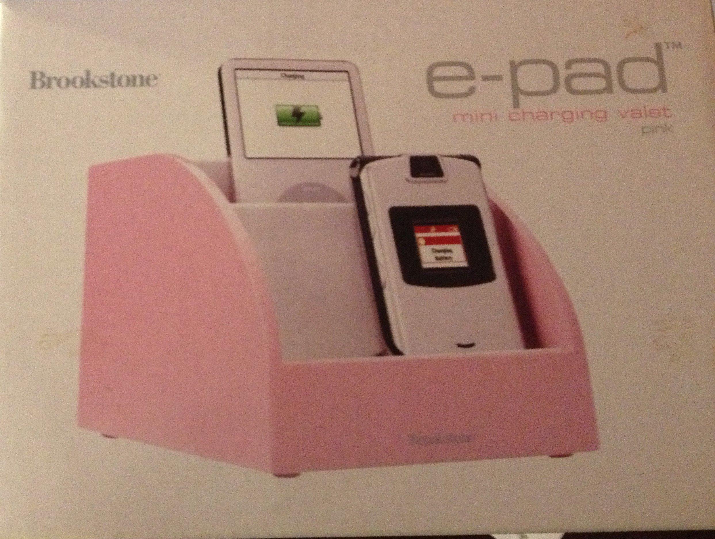Brookstone e-pad Mini Charging Valet