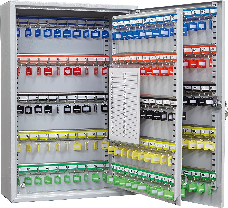 Grigio Arregui PL200/armadio di sicurezza per 60/chiavi con ganci regolabili L
