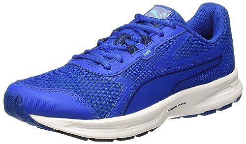 535cad36c234 Puma Men s Essential Runner Lapis Blueblue Depthsnrgy Turquoise Running  Shoes - 10 UK India (