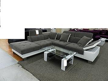 Royal Moebel Expositor Pieza sofá sofá de Esquina Couch ...