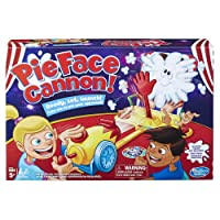 Hasbro Pie Face Cannon Game Whipped Cream Family Board Game Kids Ages 5 and Up