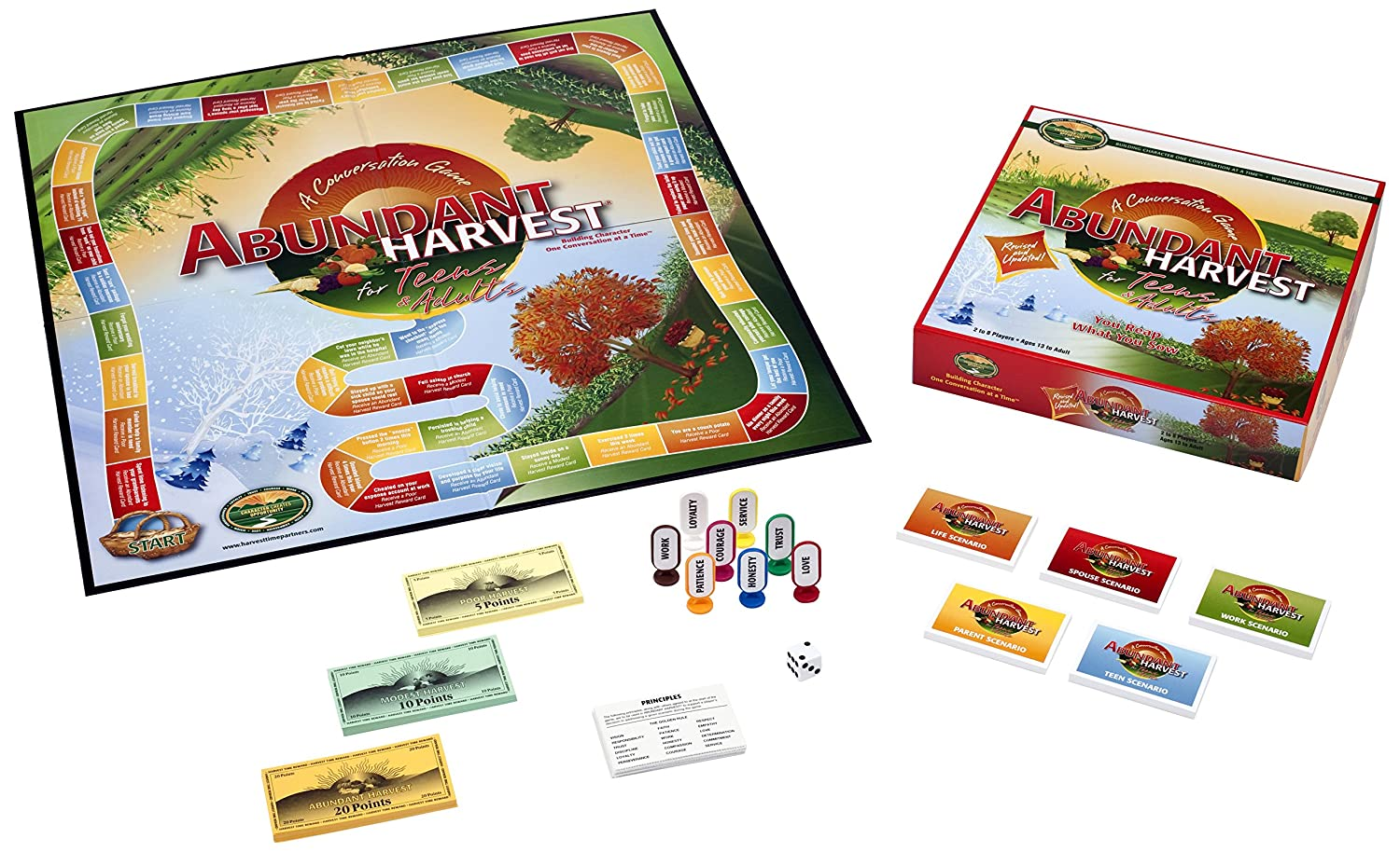 Amazon.com: Abundant Harvest Board Game for Teens and Adults: Toys & Games