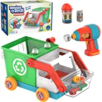 Educational Insights 4185 Design & Drill Bolt Buddies Pick It Up Truck Toy