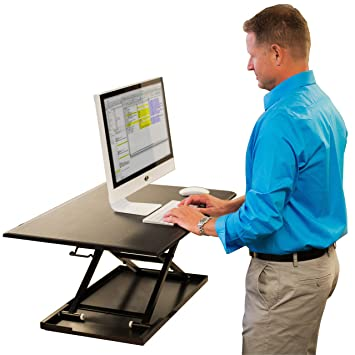 Amazoncom Stand Up Desk Store Air Rise Standing Desk Converter