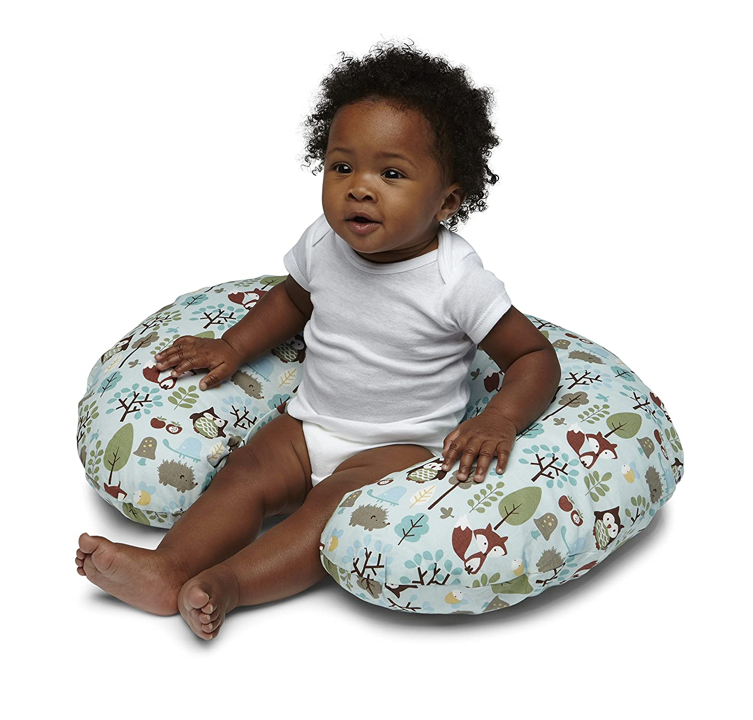 Amazon.com: Chicco Boppy – Cojín de lactancia color Woodsie ...