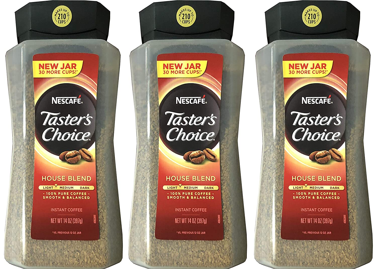 Taster's Choice Original Gourmet Instant Coffee 12Oz3 Pack Taster' s Choice