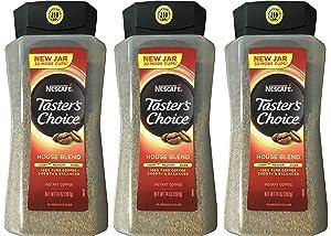 Taster's Choice Original Gourmet Instant Coffee 14 Oz, Pack of 3