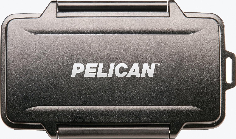 Amazon.com: Pelican 0945 Compact Flash Memory Card Case (Black ...