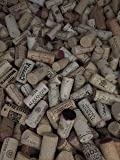 Assorted Printed Wine Corks, 130, Only Real Corks, No Synthetics - For Crafts Projects!