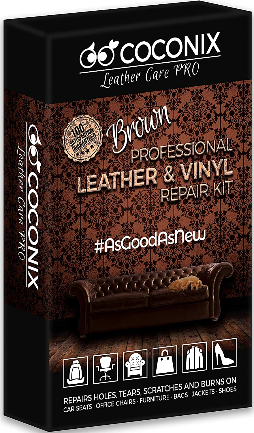 New Leather Conditioner Cleaner Repair Bags Sofa Purses Wallets Belts Car Seats
