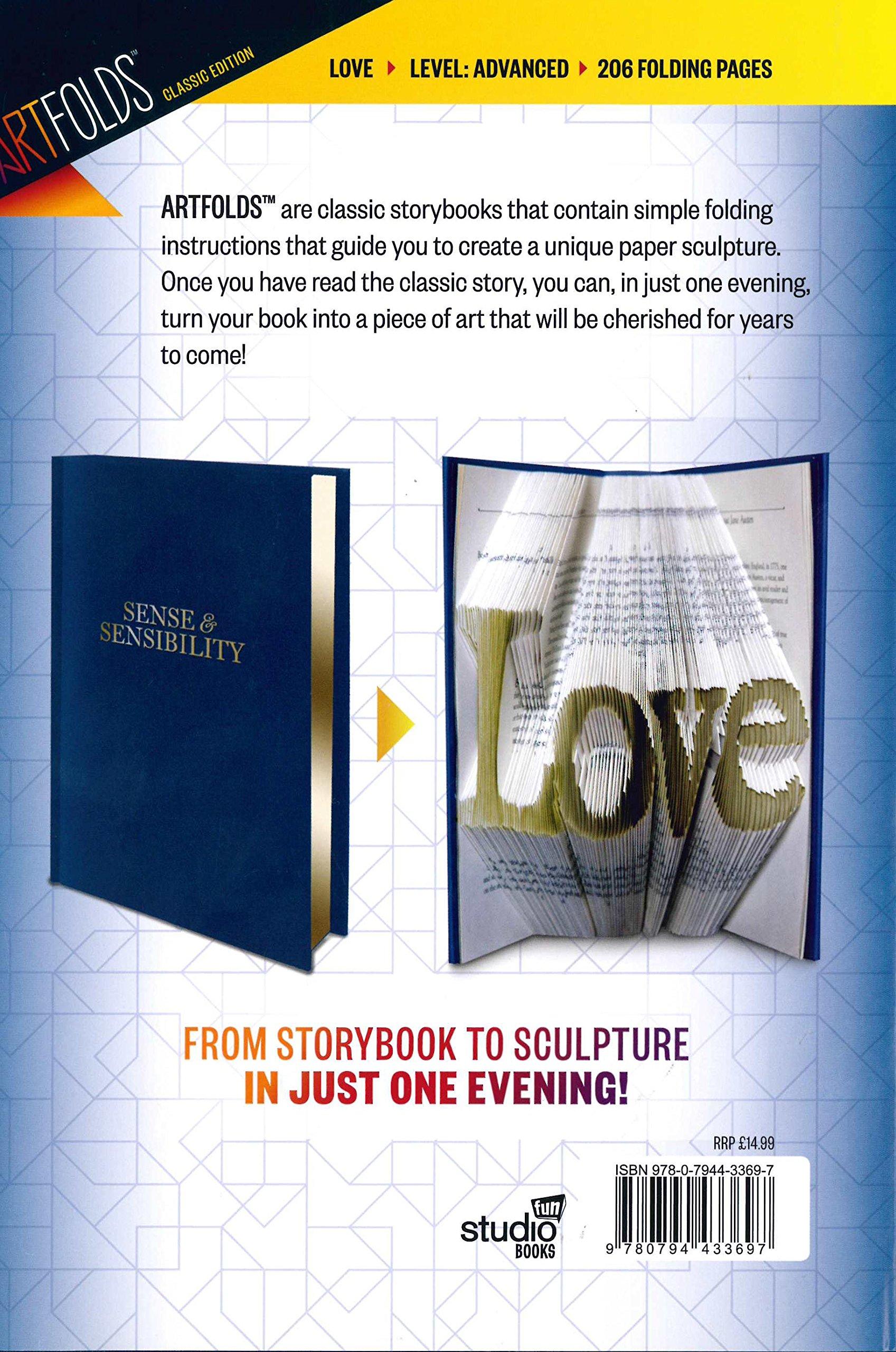 Artfolds Classic Edition: Sense U0026 Sensibility: Love: Amazon.co.uk: Studio  Fun Books: 9780794433697: Books