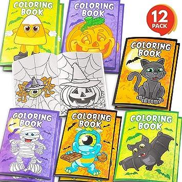 Amazon.com: ArtCreativity Halloween - Libros para colorear ...
