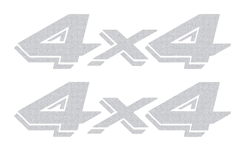 Dodge Dakota (1997 - 2011) replacement Bedside 4x4 Vinyl Graphic Decals - Style 04 OEM