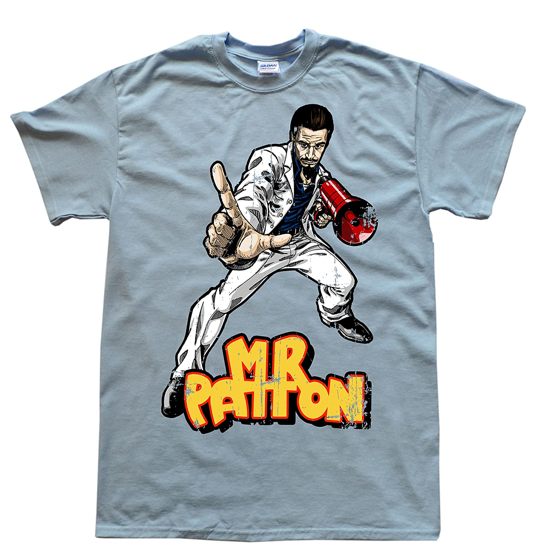 Stooble Men's Rock Hero Mr Patton T-Shirt Stooble - 1ClickPrint