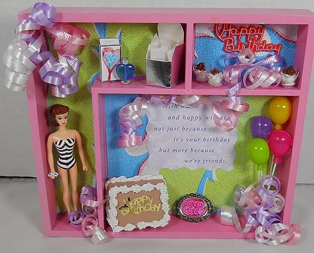 Amazon.com: Happy Birthday Barbie Wall Art Gift: Handmade