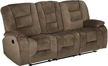 Superieur Coaster Home Furnishings Casual Motion Sofa, Brown Siege