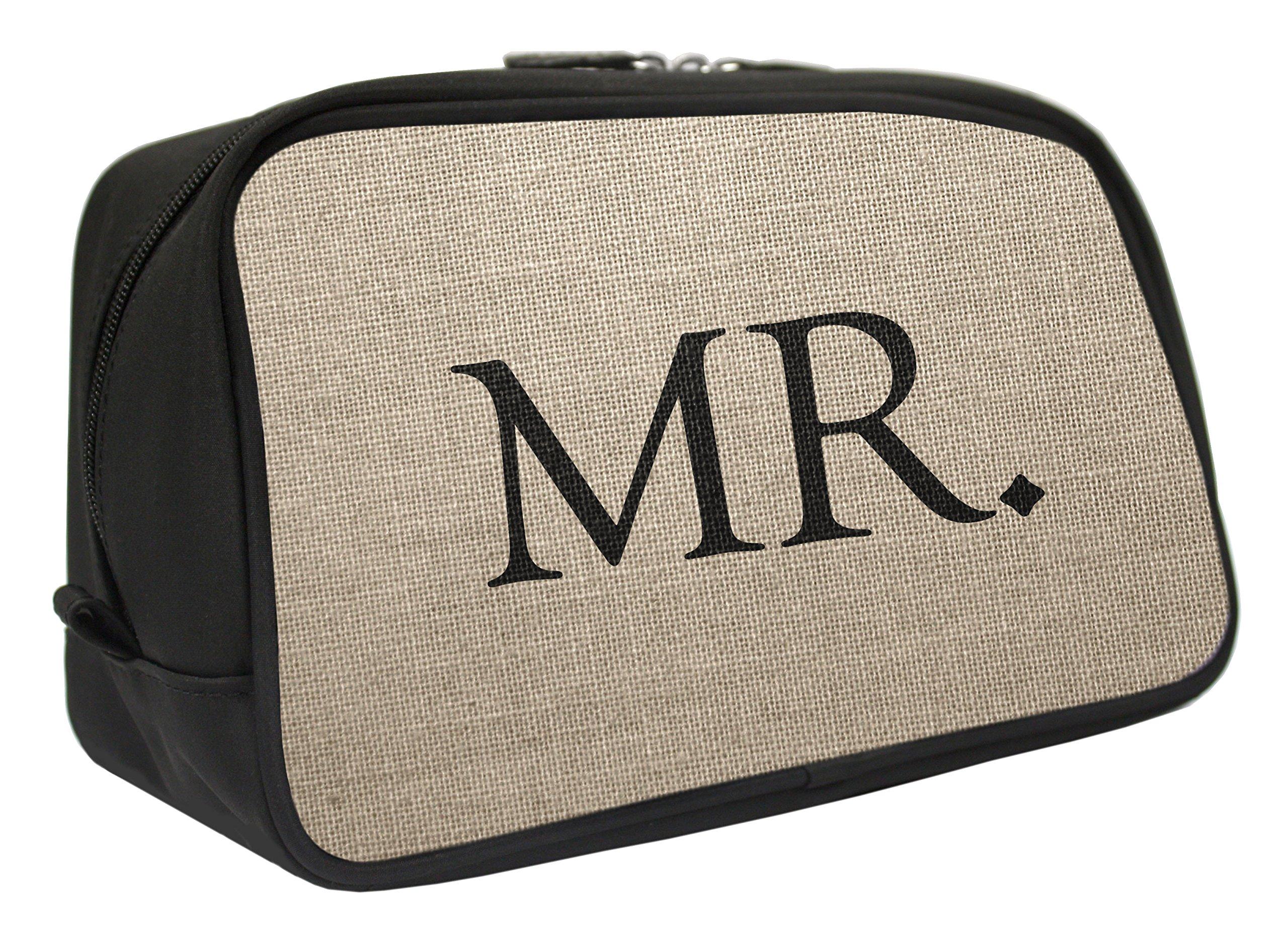 Snaptotes Mr. Wedding Groom Travel Toiletry Bag Shaving Dopp Kit