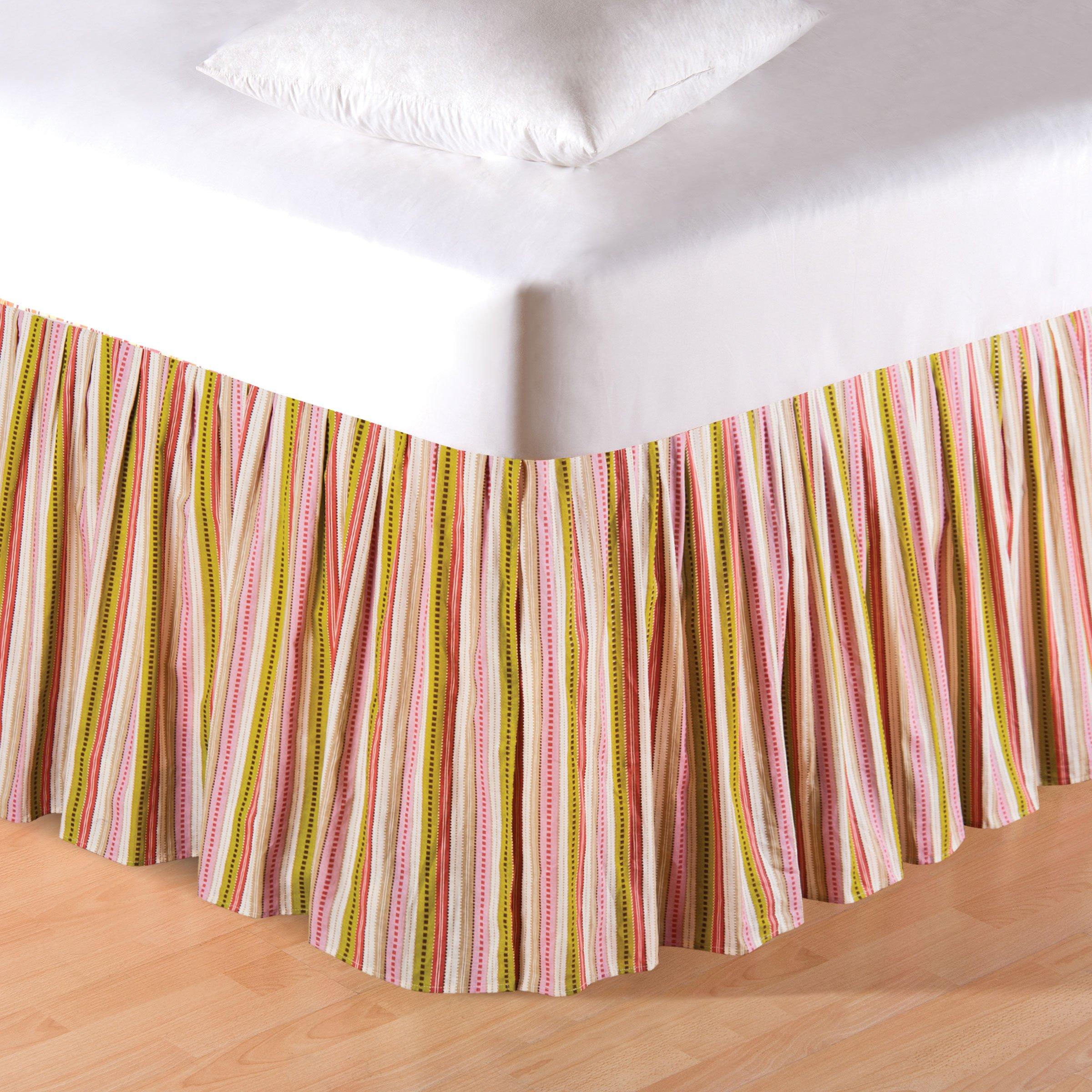 C&F Home 89910C.7880 Celine King Bed Skirt, 78'' by 80'' by 18'' by C&F Home