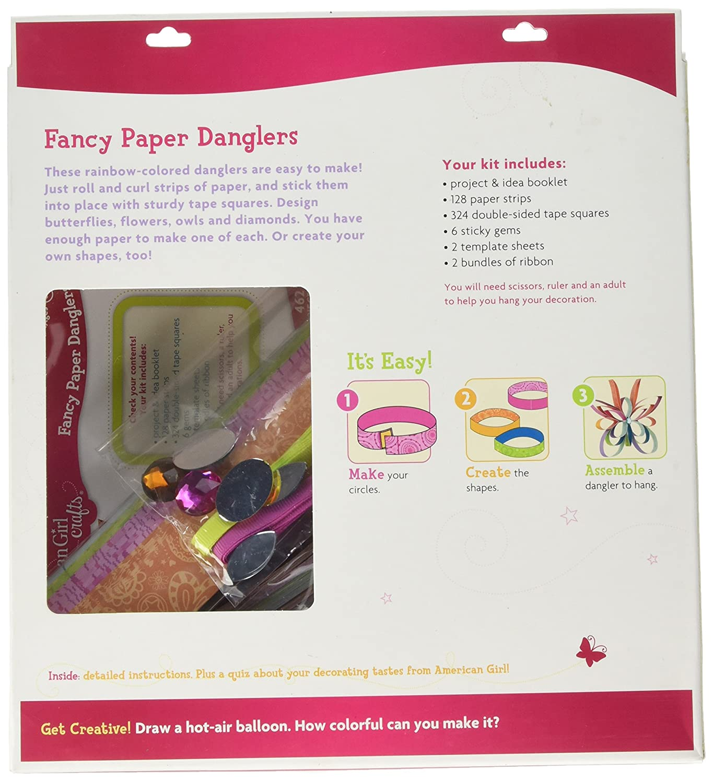 American Girl Fancy Paper Danglers_30-669697