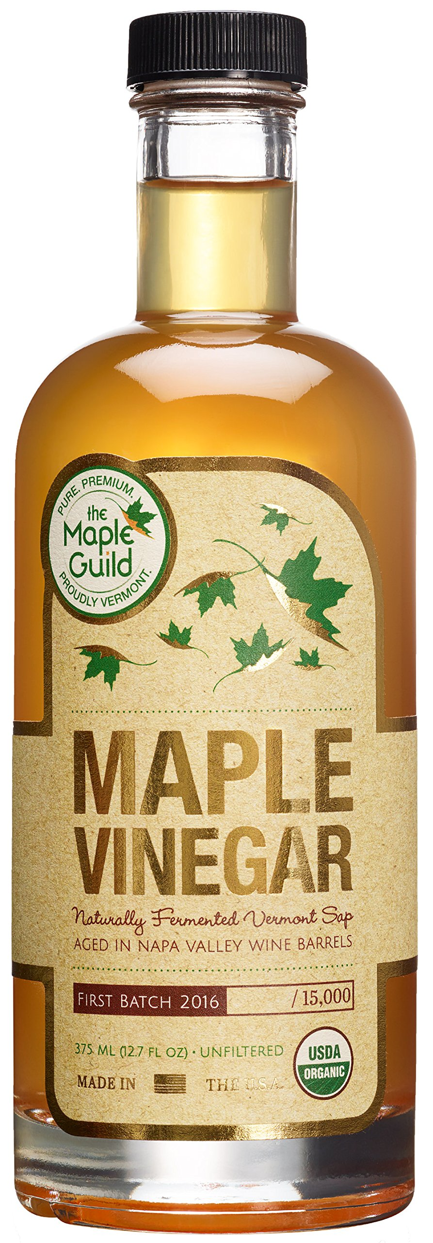 Maple Guild Organic Vinegar, 12.7 Ounce