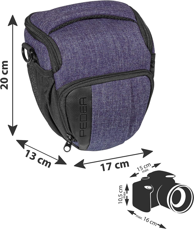 Fashion Funda para Cámara Sony SLT-A58 K, Alpha 68/Canon EOS 80d ...