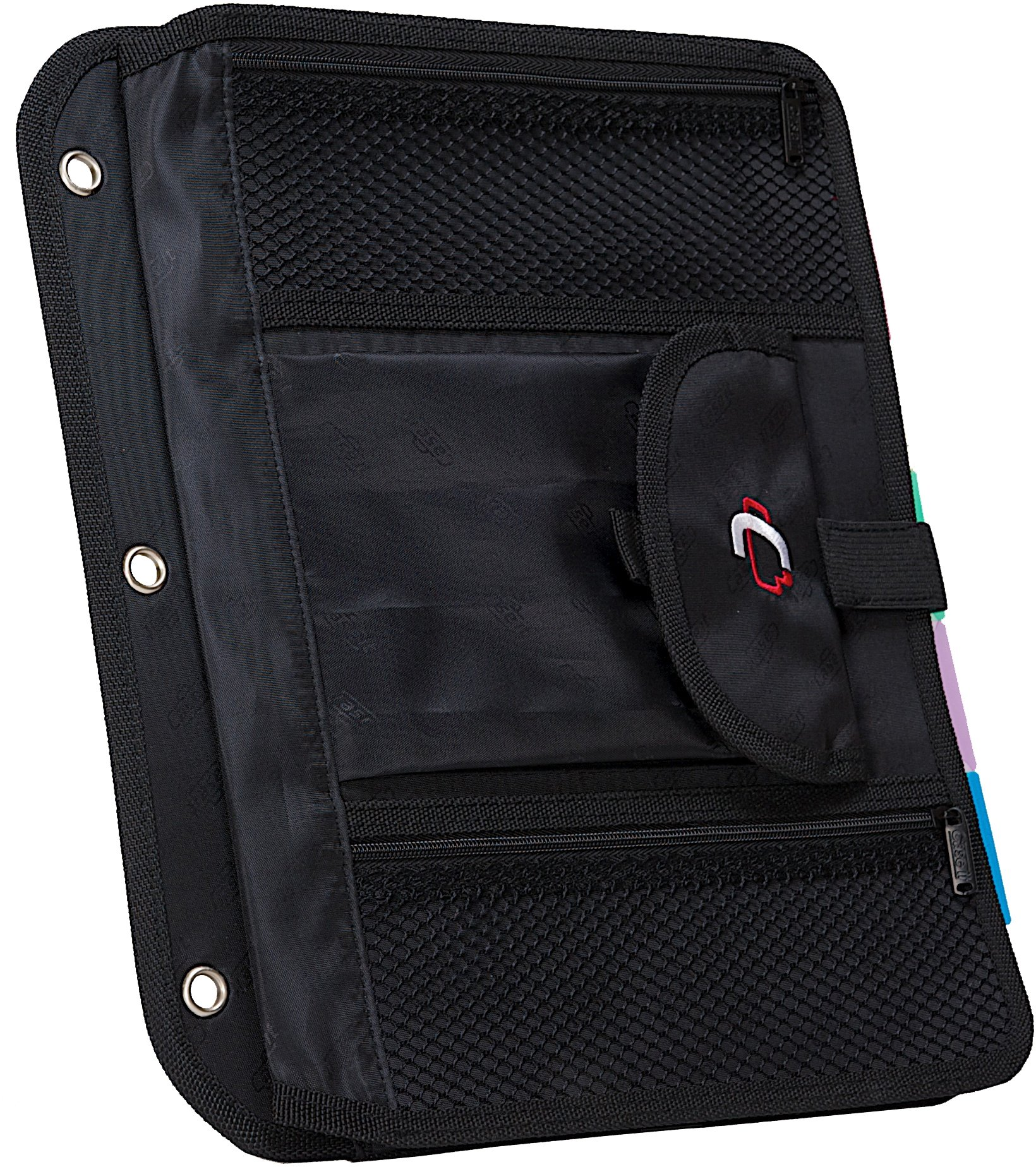 Case-it Locker Accessory 5-Tab File, Black, ACC-21-BLK
