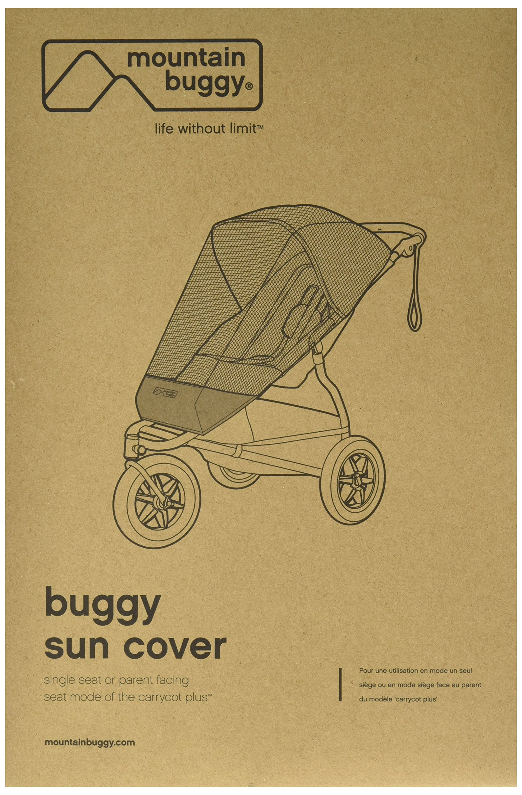Mountain Buggy Sun Cover for 2015 Terrain and Urban Jungle Stroller by mountain buggy
