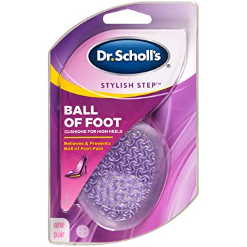 167d240126 Amazon.com: Dr. Scholl's BALL OF FOOT Cushions for High Heels (1 ...