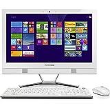 Lenovo C50-30 58,4cm (23 Zoll FHD LED) All-in-One Desktop-PC (Intel Core i5-4210U, 2.7GHz, 4GB RAM, 1TB HDD, Intel HD 4400 Graphics, DVD, Win8.1) weiß