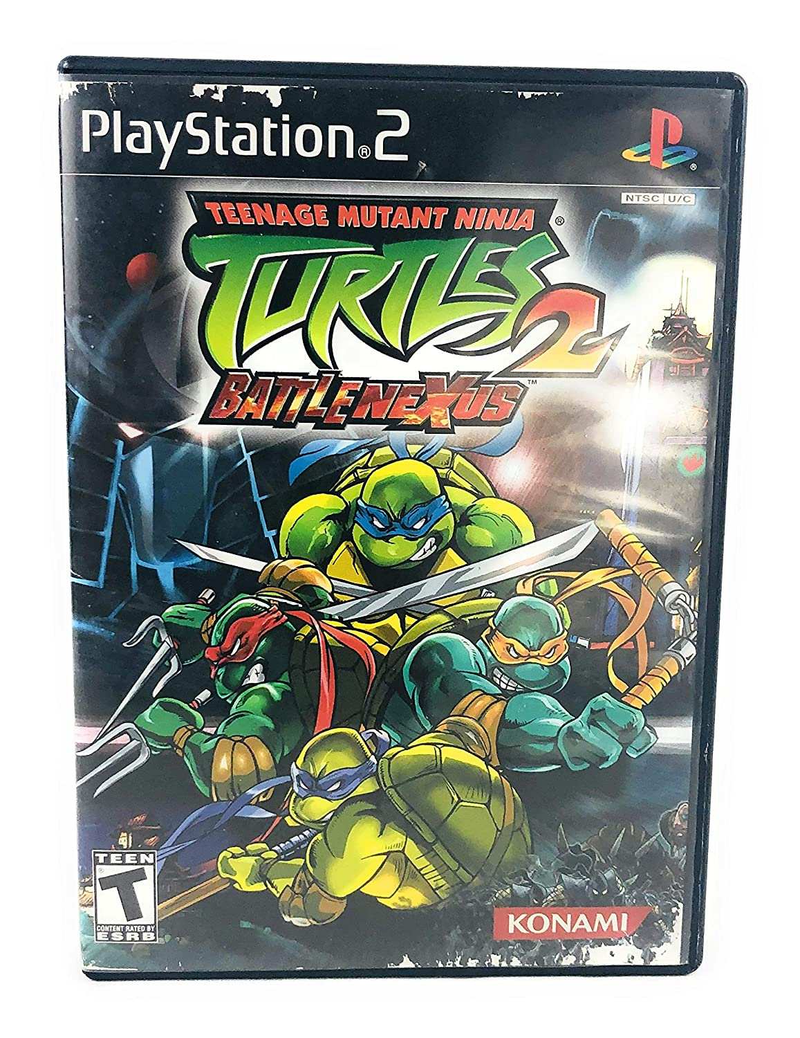 Amazon Com Teenage Mutant Ninja Turtles 2 Battle Nexus Playstation 2 Artist Not Provided Video Games