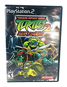 Teenage Mutant Ninja Turtles 2 Battle Nexus - PlayStation 2
