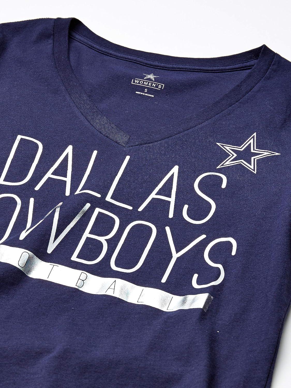 Dallas Cowboys NFL Womens Potts Short Sleeve Tee