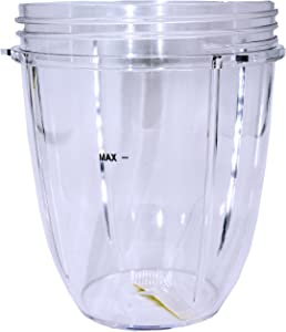 Blendin Replacement Parts, Compatible with Nutribullet 600W and 900W Blender Juicer (Short Jar)