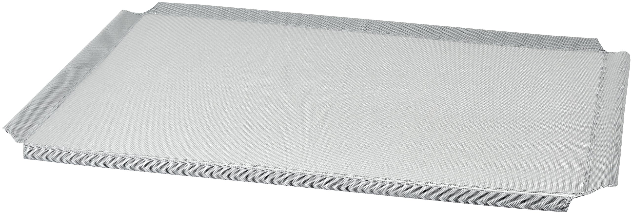 AmazonBasics Elevated Cooling Pet Bed Replacement Cover, L, Grey
