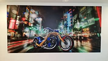 Amazoncom Motorcycle Wall Decals Living Room Wall Murals