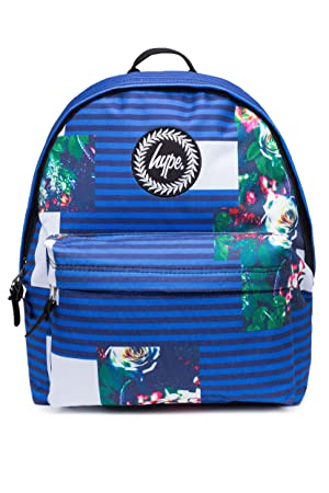 866f285f5 HYPE Backpack Rucksack School Bag for Girls Boys | Abstract Floral Stripe |  Gym Travel Casual