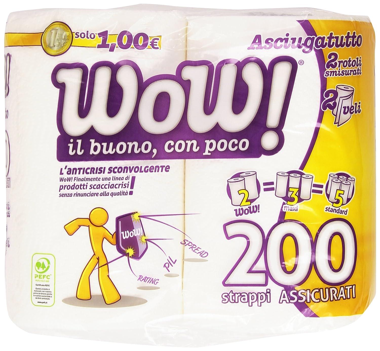 2/capas/ 200/papeles recortados Papel de cocina /2/rollos /¡Genial!