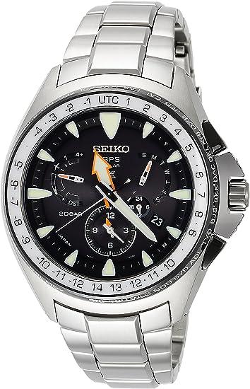 [セイコーウォッチ] 腕時計 プロスペックス ダイバー ソーラーGPS衛星電波修正 サファイアガラス SBED003