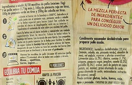 Maggi Jugoso al Horno Receta Mejicana - 1 Bolsa para Horno con ...