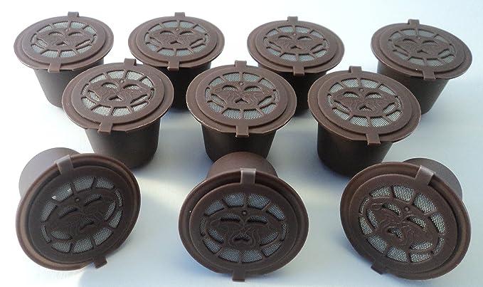 4 opinioni per ZeusPod- Capsule per caffè ricaricabili, adatte per tutte le macchine Nespresso