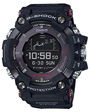 14c09a63dac8 Amazon.com  Casio G-SHOCK RANGEMAN Solar-Assisted GPS Navigation GPR ...