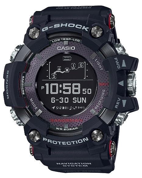 Amazon.com  Casio G-SHOCK RANGEMAN Solar-Assisted GPS Navigation GPR ... f7a355ea04d