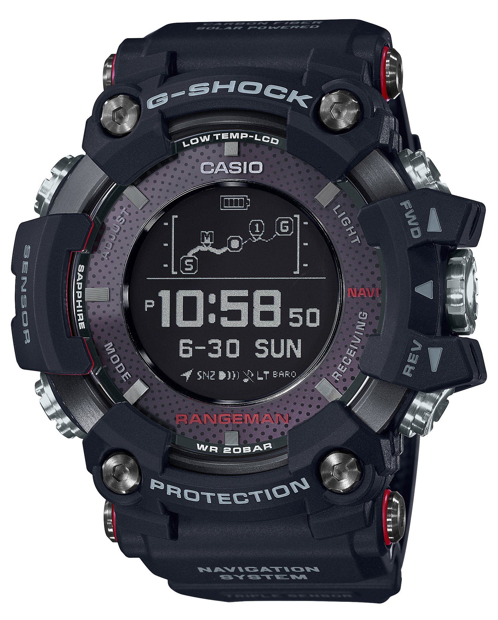 a0075fc7ba58 Casio G-SHOCK RANGEMAN Solar-Assisted - TiendaMIA.com